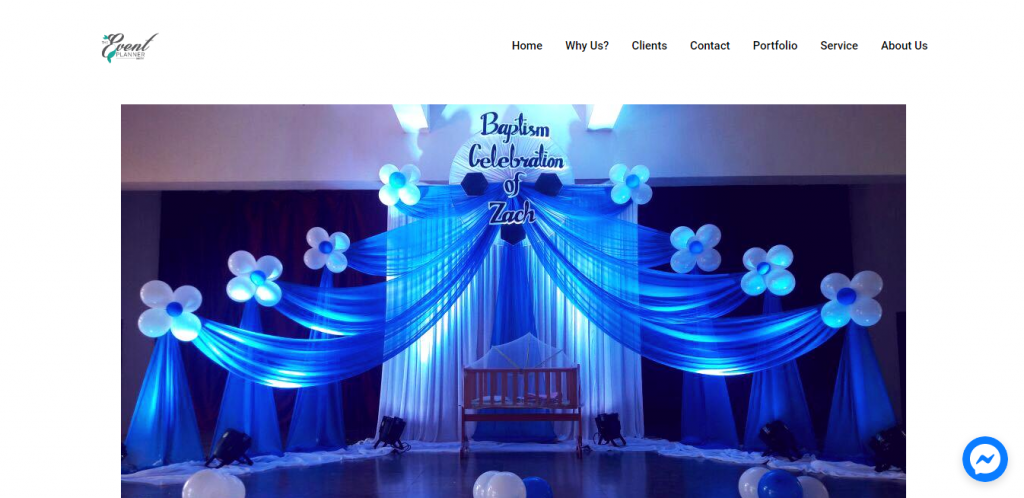 Event management demo site